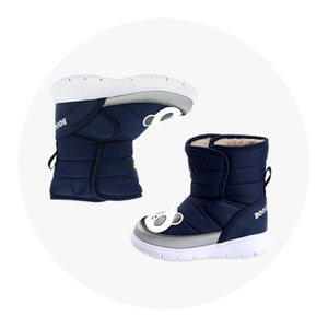CHARACTERBOOTS 2-NAVY