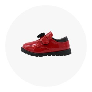 BTS SHOES-RED